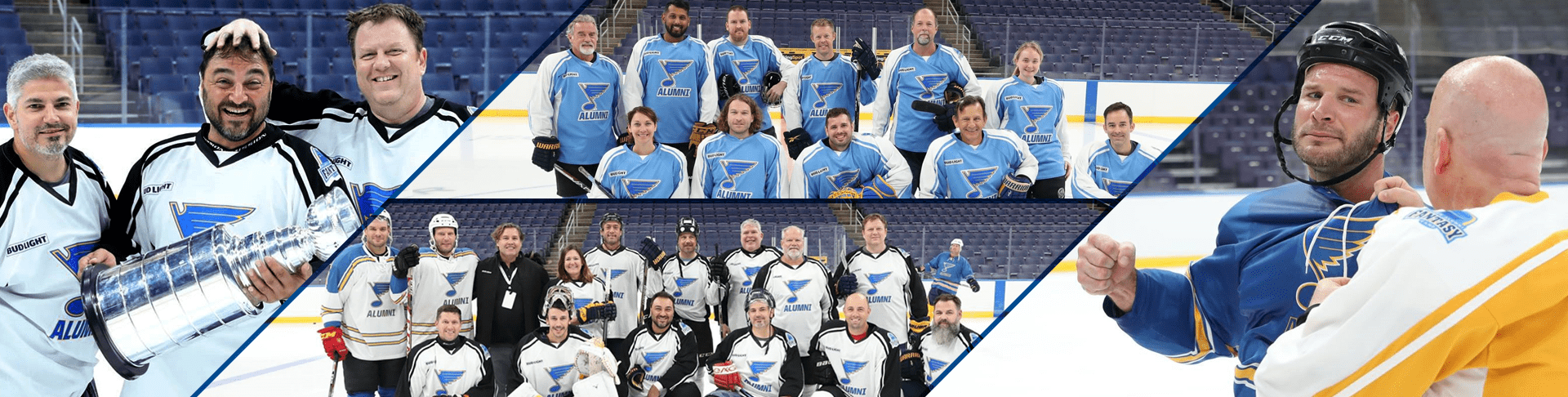 Players and Staff at 2019 Fantasy Camp
