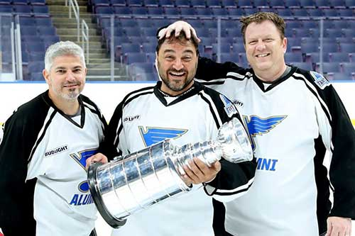 3 Guys with the cup
